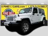 2016 Bright White Jeep Wrangler Unlimited Sahara 4x4 #108374831