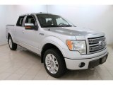 2010 Ingot Silver Metallic Ford F150 Platinum SuperCrew 4x4 #108375146