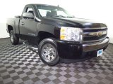 2008 Black Chevrolet Silverado 1500 Work Truck Regular Cab #108402738