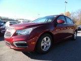 2016 Siren Red Tintcoat Chevrolet Cruze Limited LT #108402651
