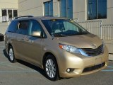 2011 Sandy Beach Metallic Toyota Sienna XLE AWD #108402906