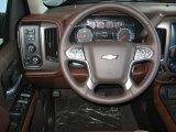 2016 Chevrolet Silverado 1500 High Country Crew Cab 4x4 Steering Wheel