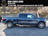 2016 Blue Jeans Ford F150 XLT SuperCrew 4x4 #108435606