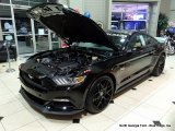 2015 Black Ford Mustang ROUSH Stage 1 Pettys Garage Coupe #108435365