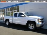 2016 Summit White Chevrolet Silverado 1500 LT Double Cab 4x4 #108435461