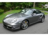 2007 Meteor Grey Metallic Porsche 911 Turbo Coupe #10829148