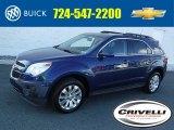 2010 Navy Blue Metallic Chevrolet Equinox LT AWD #108472415