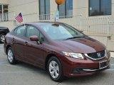 2015 Honda Civic Crimson Pearl