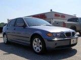 2003 Steel Blue Metallic BMW 3 Series 325i Sedan #10837227
