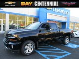 2016 Black Chevrolet Silverado 1500 LT Z71 Double Cab 4x4 #108472182