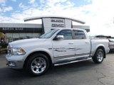 2012 Bright White Dodge Ram 1500 Laramie Crew Cab 4x4 #108472303