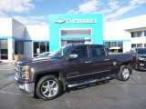 2014 Tungsten Metallic Chevrolet Silverado 1500 LTZ Crew Cab 4x4 #108472283