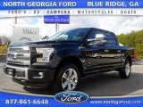 2015 Tuxedo Black Metallic Ford F150 Platinum SuperCrew 4x4 #108472021