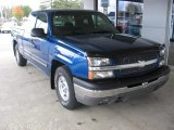 2003 Arrival Blue Metallic Chevrolet Silverado 1500 LS Extended Cab #108506371