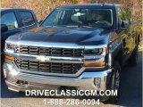 2016 Tungsten Metallic Chevrolet Silverado 1500 LT Double Cab 4x4 #108506302