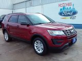 2016 Ruby Red Metallic Tri-Coat Ford Explorer 4WD #108506069