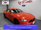 2016 Competition Orange Ford Mustang GT Premium Coupe #108506063