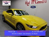2016 Triple Yellow Tricoat Ford Mustang GT Coupe #108506057
