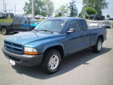 2003 Atlantic Blue Pearlcoat Dodge Dakota SXT Club Cab #10829523