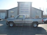 2006 Graystone Metallic Chevrolet Silverado 1500 Work Truck Regular Cab 4x4 #108537596