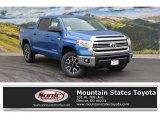 2016 Blazing Blue Pearl Toyota Tundra SR5 CrewMax 4x4 #108537391
