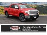 2016 Radiant Red Toyota Tundra Limited CrewMax 4x4 #108537388