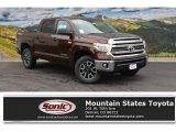 2016 Sunset Bronze Mica Toyota Tundra SR5 CrewMax 4x4 #108537387
