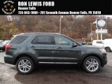 2016 Guard Metallic Ford Explorer XLT 4WD #108537448