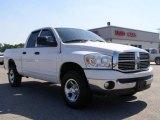 2007 Bright White Dodge Ram 1500 ST Quad Cab 4x4 #10837236
