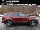 2016 Bronze Fire Metallic Ford Explorer Sport 4WD #108537449