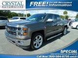 2014 Brownstone Metallic Chevrolet Silverado 1500 LTZ Crew Cab 4x4 #108550729