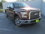 2015 Bronze Fire Metallic Ford F150 XLT SuperCrew #108556034