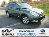 2012 Cypress Green Pearl Subaru Outback 2.5i Limited #108556051