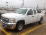 2012 Summit White Chevrolet Silverado 1500 LS Extended Cab #108556046