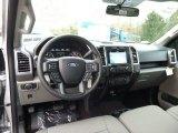 2016 Ford F150 XLT SuperCrew 4x4 Medium Earth Gray Interior