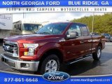 2015 Bronze Fire Metallic Ford F150 XLT SuperCab 4x4 #108555893