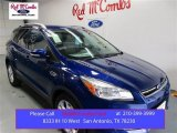 2016 Deep Impact Blue Metallic Ford Escape Titanium #108572574
