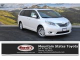 2015 Blizzard White Pearl Toyota Sienna Limited AWD #108572415