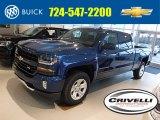 2016 Deep Ocean Blue Metallic Chevrolet Silverado 1500 LT Z71 Crew Cab 4x4 #108572831