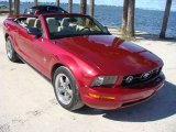 2006 Redfire Metallic Ford Mustang V6 Premium Convertible #108572400