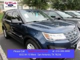 2016 Blue Jeans Metallic Ford Explorer FWD #108610026