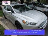 2016 Ingot Silver Metallic Ford Fusion SE #108610023