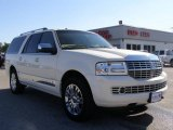 2007 White Chocolate Tri-Coat Lincoln Navigator L Luxury #10837258