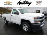 2016 Summit White Chevrolet Silverado 1500 WT Regular Cab 4x4 #108610411