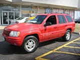 1999 Jeep Grand Cherokee Flame Red