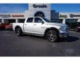 2014 Bright Silver Metallic Ram 1500 Laramie Crew Cab 4x4 #108610204