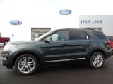 2016 Guard Metallic Ford Explorer XLT 4WD #108610392