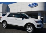 2016 Oxford White Ford Explorer FWD #108610179