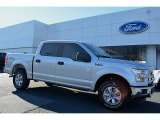 2015 Ingot Silver Metallic Ford F150 XLT SuperCrew 4x4 #108610176