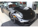 2016 Porsche 911 Jet Black Metallic